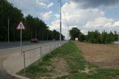 Дорога в сторону Боровского шоссе